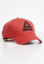 Reebok - Active enhanced baseball cap - red