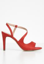 Call It Spring - Mikale heel - bright red