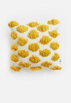 Sixth Floor - Poppy cushion cover - mustard