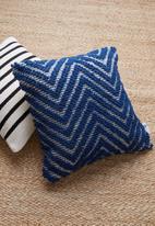 Sixth Floor - Ceil cushion cover - blue