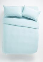 Sixth Floor - Polycotton bedding pack - duck egg