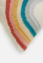 Sixth Floor - Rainbow cushion cover - multi