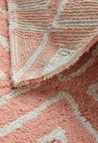 Sixth Floor - Diamond bath mat - pink
