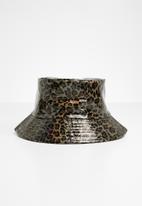 Superbalist - Vinyl bucket hat - bronze