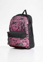 Vans - Realm classic backpack - black & pink