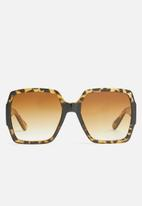 Superbalist - Emilia square sunglasses - brown