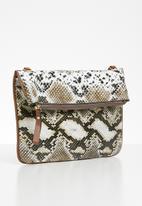 Superbalist - Snake print crossbody bag - multi