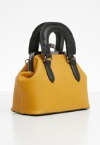 Superbalist - Structured crossbody bag - yellow & black