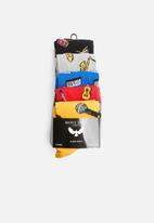 Brave Soul - Rock socks - multi