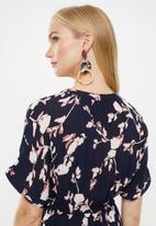 Vero Moda - Amsterdam tunic dress - navy & pink