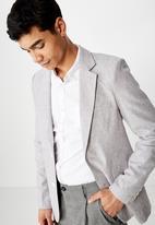 Cotton On - Linen blazer - grey
