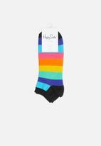 Happy Socks - Stripe low sock - multi