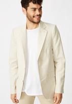 Cotton On - Linen blazer - neutral