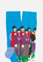 Happy Socks - Pepperland sock - blue & green
