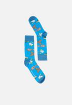 Happy Socks - Beatles socks - blue