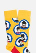 Happy Socks - Beatles socks - yellow