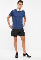 Nike - Dri-fit miler short sleeve top - navy