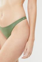 Cotton On - Edie thong bikini bottom  - green