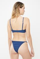 Cotton On - Tanga Brazilian bikini bottom - blue