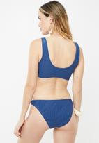 Cotton On - Classic full bikini bottom - blue
