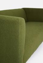 Sixth Floor - Aiden 3 seater sofa - olive