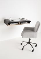 Emerging Creatives - Stockholm floating work desk - black