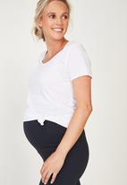 Cotton On - Maternity core capri over belly tight - navy