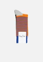 Happy Socks - Half stripe socks - multi