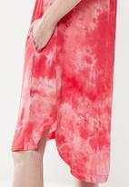 AMANDA LAIRD CHERRY - Alana tunic - pink & white
