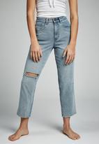 Cotton On - Straight leg jean  - blue