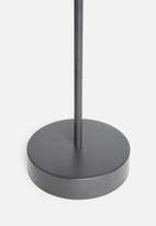 Sixth Floor - Tait side table - charcoal