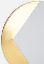 SF Collection - Pac wall mirror - gold