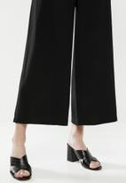 Superbalist - Formal wide leg pants - black