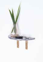 SF Collection - Davi marble shelf - grey