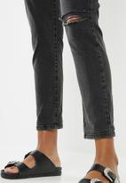 Cotton On - Stretch mom jeans -  black