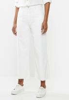 Cotton On - Wide leg jeans - cream