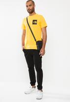 The North Face - Fine short sleeve tee - yellow