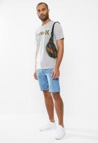 Hurley - One and only solid short sleeve tee - grey