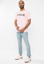 Hurley - One and only solid short sleeve tee - pink