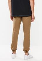 Cotton On - Drake cuffed pants - tan