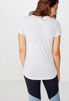 Cotton On - Maternity gym T-shirt - grey