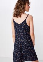 Cotton On - Woven maisy strappy mini dress  - multi