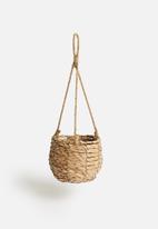 Sixth Floor - Straw hanging basket - large
