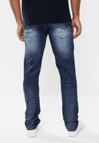 GUESS - Brooklyn slim fit tapered jeans - blue
