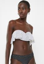 Brave Soul - Lia bikini top - black & white