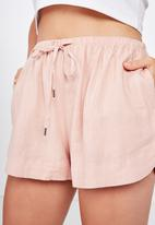Cotton On - Mischa short - pink