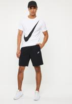 Nike - Club jersey shorts - black
