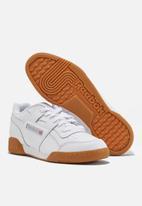 Reebok Classic - Workout plus - white/ carbon/classic red/reebok royal gum