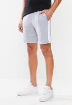 Superbalist - 1up side stripe sweat shorts - grey