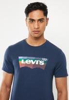 Levi's® - Housemark graphic tee - navy